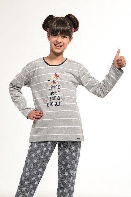 Dívčí pyžamo s dlouhým rukávem Cornette 974/112