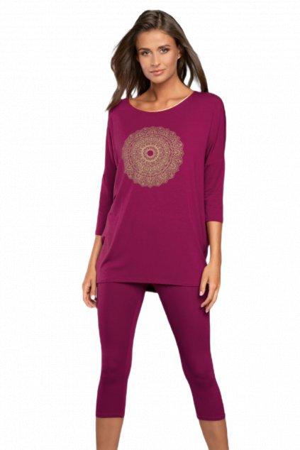 Dámské pyžamo z viskózy Italian Fashion Mandala