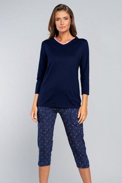 Dámské bavlněné pyžamo Italian Fashion Elba
