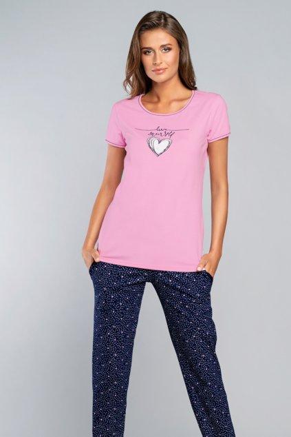 Dámské pyžamo s krátkým rukávem Italian Fashion Saloma