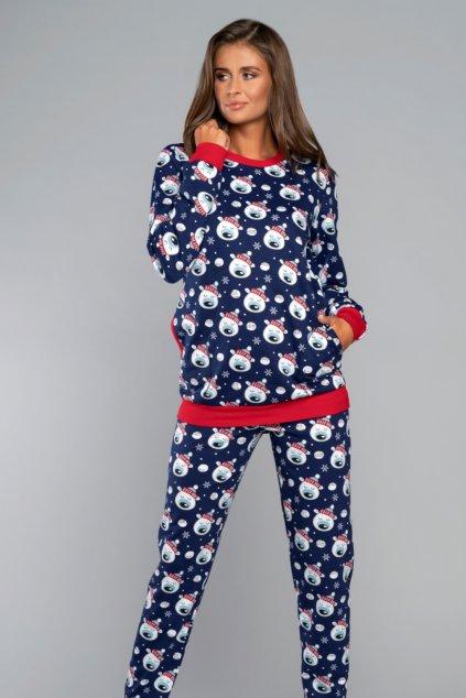 Dámské vánoční pyžamo s dlouhým rukávem Italian Fashion Hati