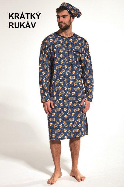 Pánská noční košile s krátkým rukávem Cornette 109/04