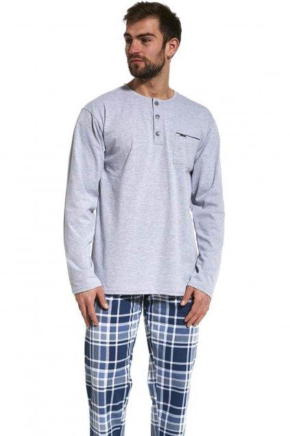 pánské pyžamo s dlouhým rukávem Cornette 125/169 Dave
