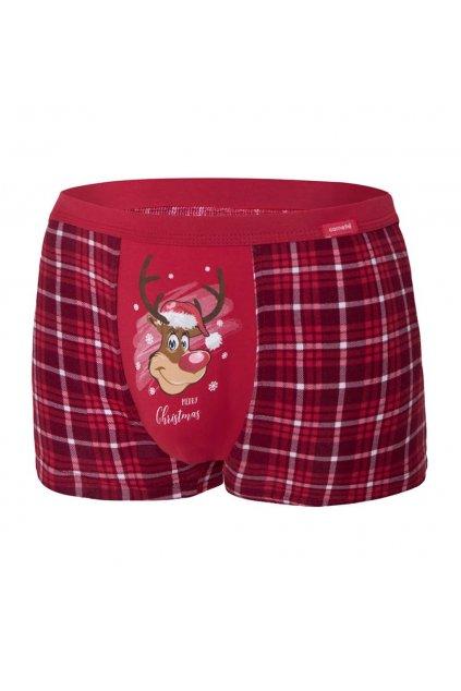 Vánoční pánské boxerky Cornette 007/58 Reindeer