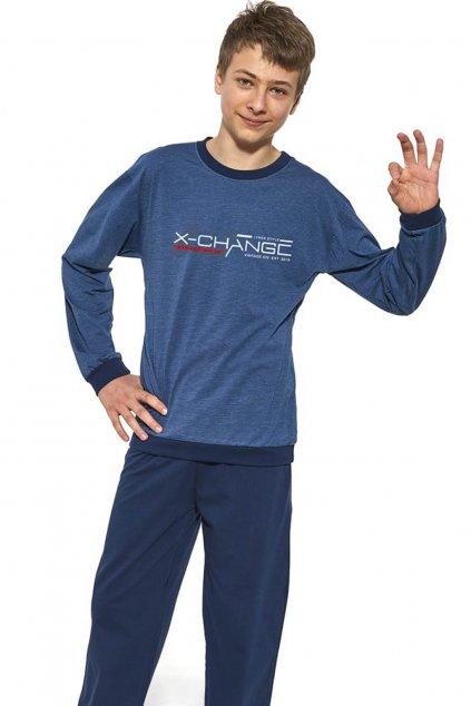 chlapecké pyžamo s dlouhým rukávem Cornette 989/37 Street Wear