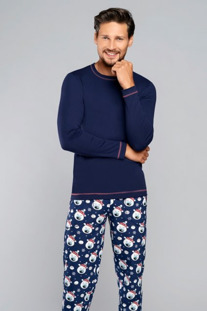 Pánské pyžamo s dlouhým rukávem Italian Fashion Balu