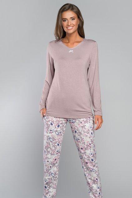 Dámské pyžamo s dlouhým rukávem Italian Fashion Teresa