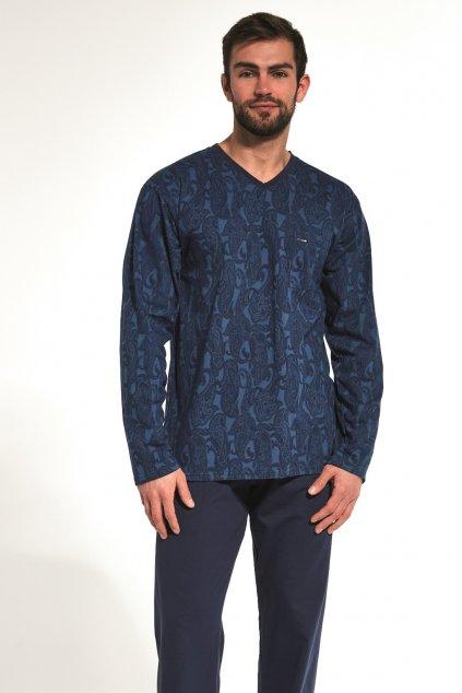 Pánské bavlněné pyžamo s dlouhým rukávem Cornette 310/173 Victor