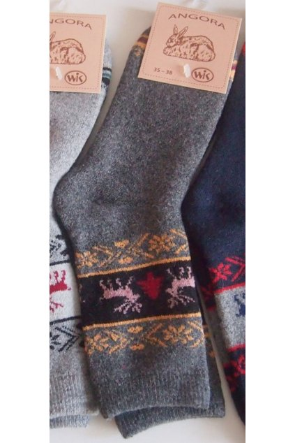 Zimní teplé ponožky Wik Angora