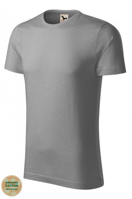 Pánské tričko s krátkým rukávem s organické bavlny MF 173/25