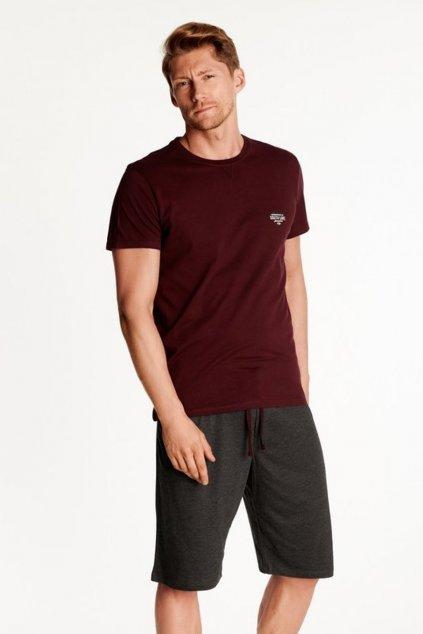 Pánské pyžamo s krátkým rukávem Henderson 38361