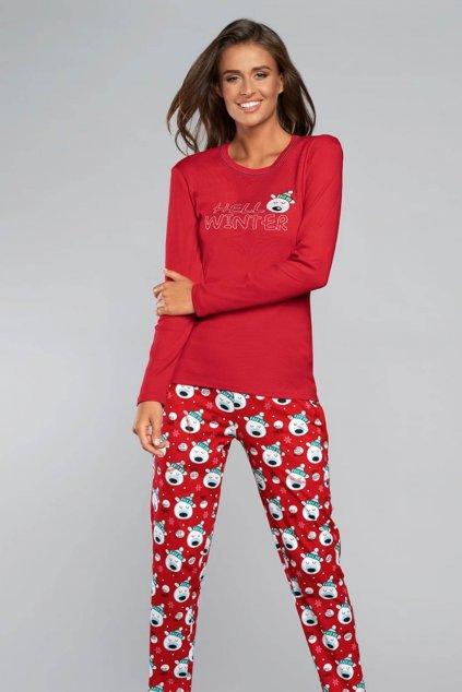 Dámské pyžamo Italian Fashion Czoka red