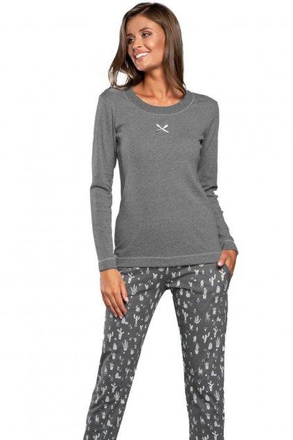Dámské pyžamo s dlouhým rukávem Italian Fashion Aloa