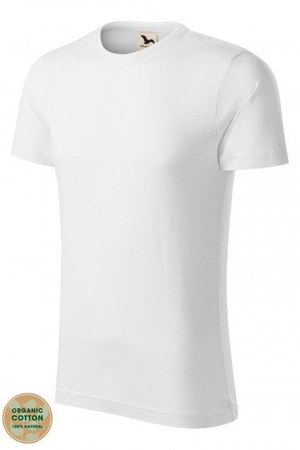 Pánské tričko s krátkým rukávem s organické bavlny MF 173/00.