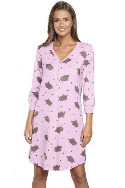 Dámská noční košile s 3/4 rukávem Italian Fashion Mamba