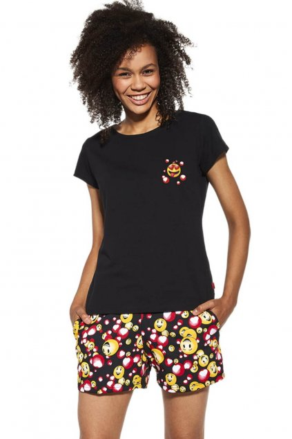 dámské pyžamo s krátkým rukávem Cornette 398/189 Funny