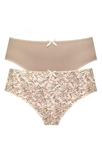 Dámské bavlněné kalhotky klasického střihu značky Leptir.