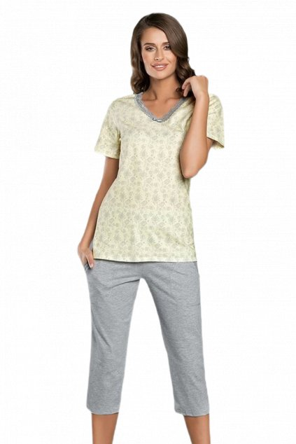 Dámské bavlněné pyžamo Italian Fashion Trina