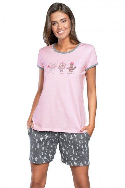Dámské pyžamo s krátkým rukávem Italian Fashion Juga
