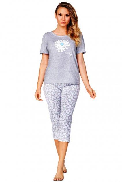 Šedé dámské pyžamo Regina 941