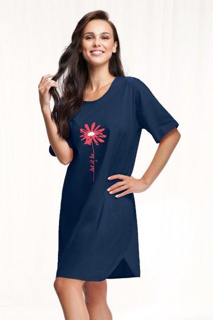 Dámská noční košile s krátkým rukávem Luna 085