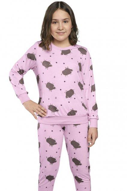 Dívčí pyžamo s dlouhým rukávem Italian Fashion Pumba