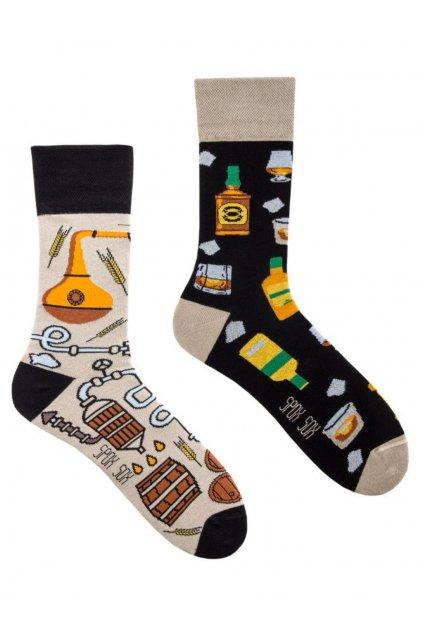 Veselé ponožky Spox Sox whisky