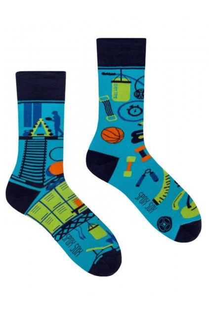 Veselé ponožky Spox Sox fitness