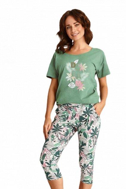 Dámské zelené pyžamo TaroKali 2491