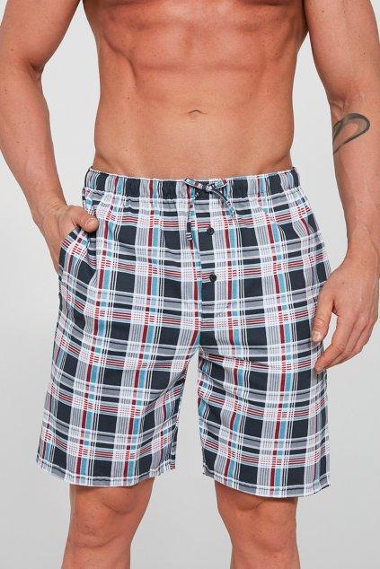 Pánské krátké bavlněné pyžamové kalhoty Cornette 698/04
