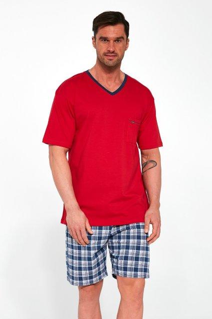 Pánské červené pyžamo Cornette329/114 Tom