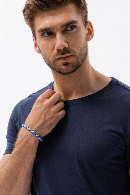 Pánské triko s krátkým rukávem bez potisku Leptir 700/03