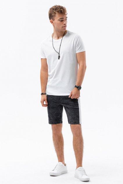 Pánské triko s krátkým rukávem bez potisku Leptir 700/01