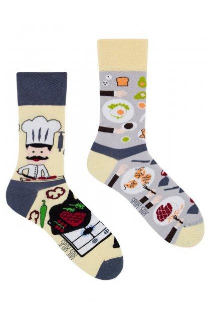 Veselé ponožky Spox Sox kuchyně
