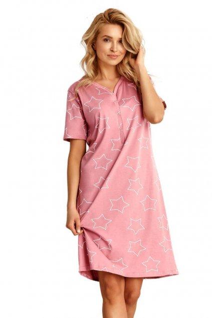 Dámská růžová noční košileTaro Oksa 2489