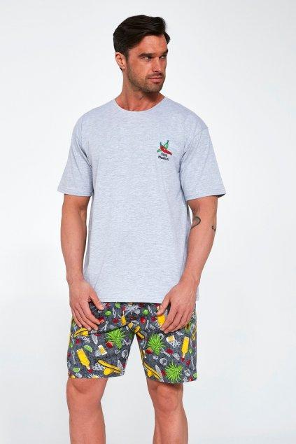 Pánské bavlněné pyžamo s krátkým rukávem Cornette 326/107 Mexico