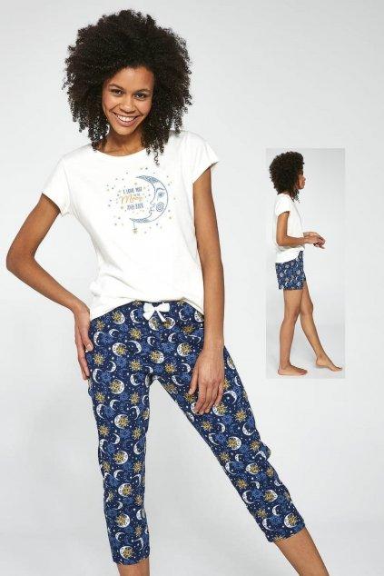 Trojdílné dámské pyžamo Cornette388/203 Moo