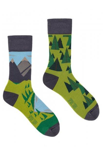 Veselé ponožky Spox Soxturistika