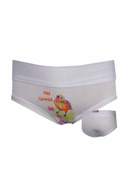 Dívčí kalhotky Emy WB 2155  Bianco