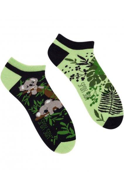 Veselé kotníkové ponožky Spox Sox koala