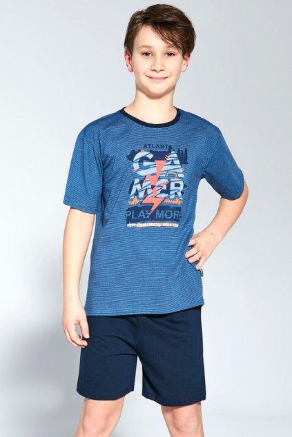 Chlapecké bavlněné pyžamo s krátkým rukávem Cornette 476/92 Gamer.100 – kopie (10)