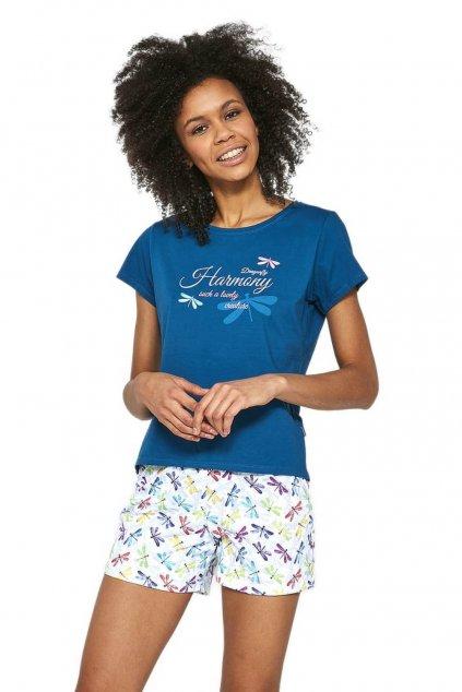 Dámské bavlněné pyžamo s krátkým rukávem Cornette521/192 Harmony