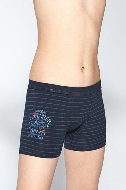 Chlapecké bavlněné boxerky s elastanem Cornette700/112 Ontario 4