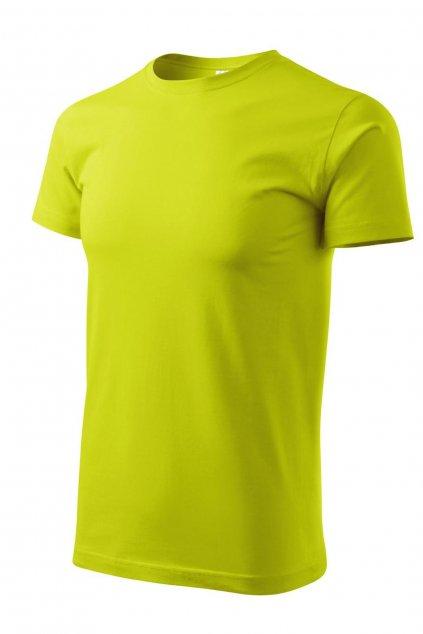 Pánské žluté tričko s krátkým rukávem MF 129/62.