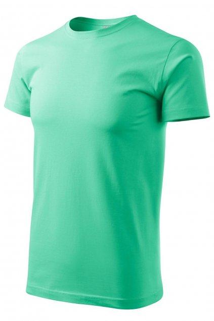 Pánské zelené tričko s krátkým rukávem MF 129/95.