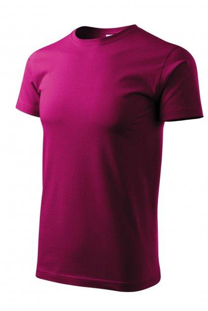 Pánské fialové tričko s krátkým rukávem MF 129/49.