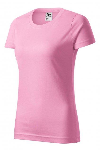 Dámské růžové tričko s krátkým rukávem MF 134/30.