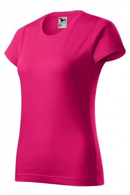 Dámské bavlněné tričko s krátkým rukávem MF 134/63.