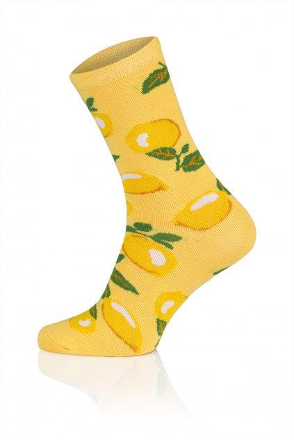 Veselé ponožky Gee One S 117 D Lemon.