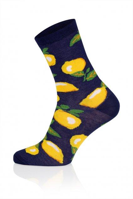 Veselé ponožky Gee One S 117 D Lemon granat.